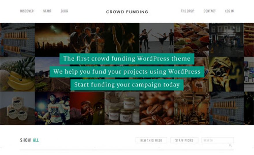 10+ Best Crowdfunding WordPress Themes