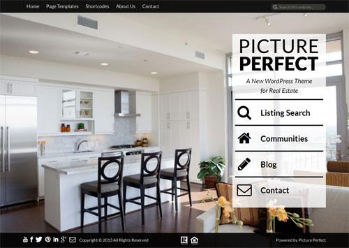 Picture Perfect Real Estate Theme