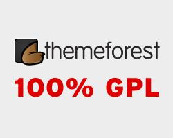 ThemeForest 100% GPL