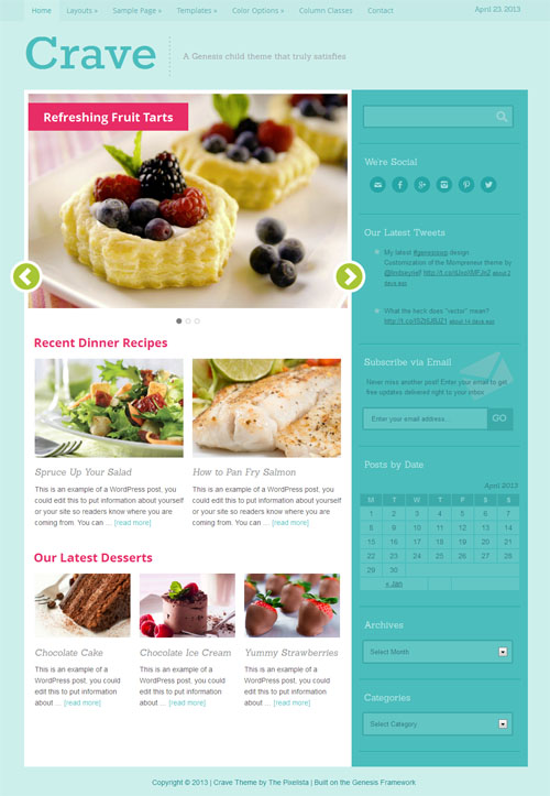 Crave Premium WordPress Theme