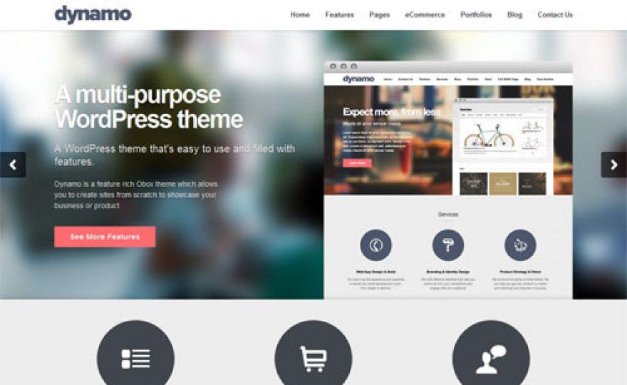Multi-Purpose Responsive Business WordPress Theme – Dynamo