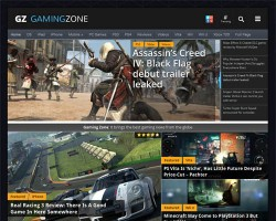 Gaming Zone Responsive Magazine WordPress Theme