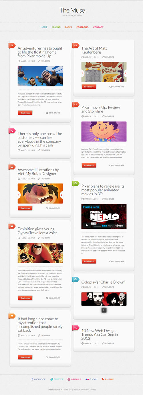 The Muse Premium WordPress Blog Theme