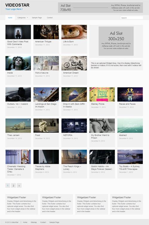 40+ Best Video WordPress Themes 2018