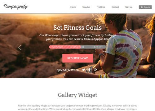 Crowd Funding Website Theme for WordPress