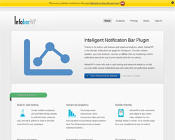 InfobarWP WordPress Notification Bar Plugin Review