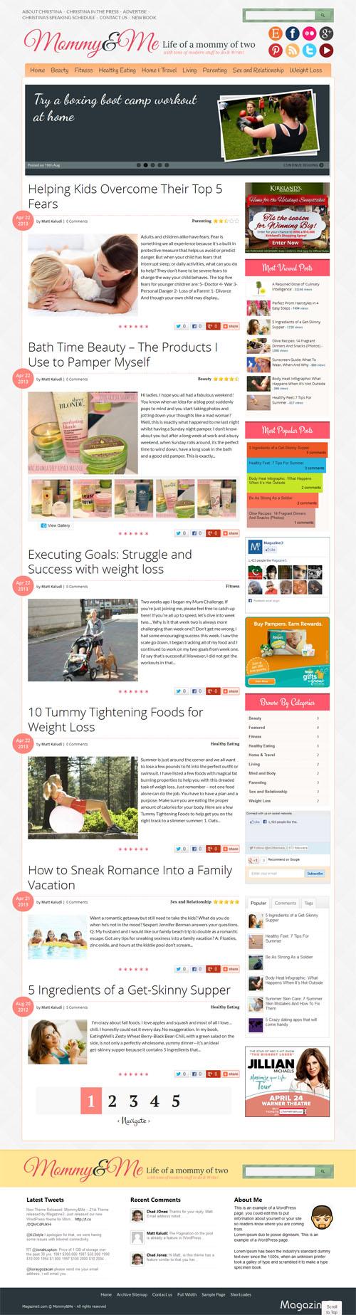 Mommy Blog