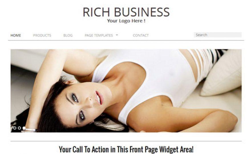 Minimalist Responsive Business WordPress Theme