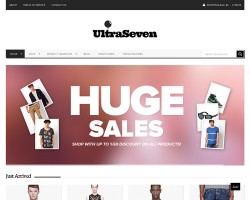 UltraSeven Ecommerce WordPress Theme