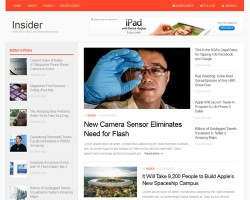 Insider Magazine WordPress Theme