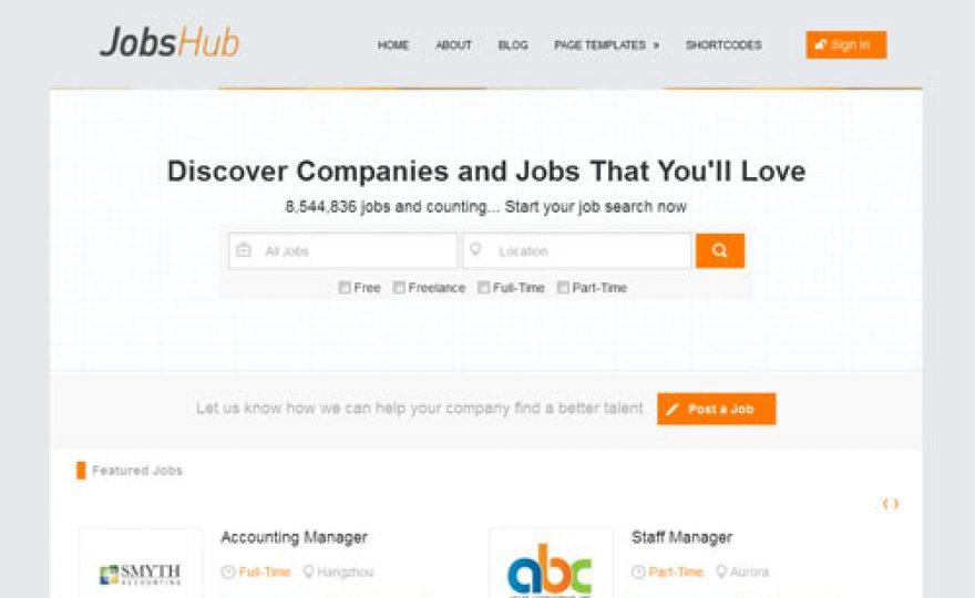 Jobs Board WordPress Theme