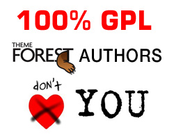 100% GPL Theme Forest