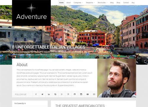 The Best Travel WordPress Themes