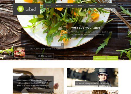 30+ Excellent Restaurant WordPress Themes
