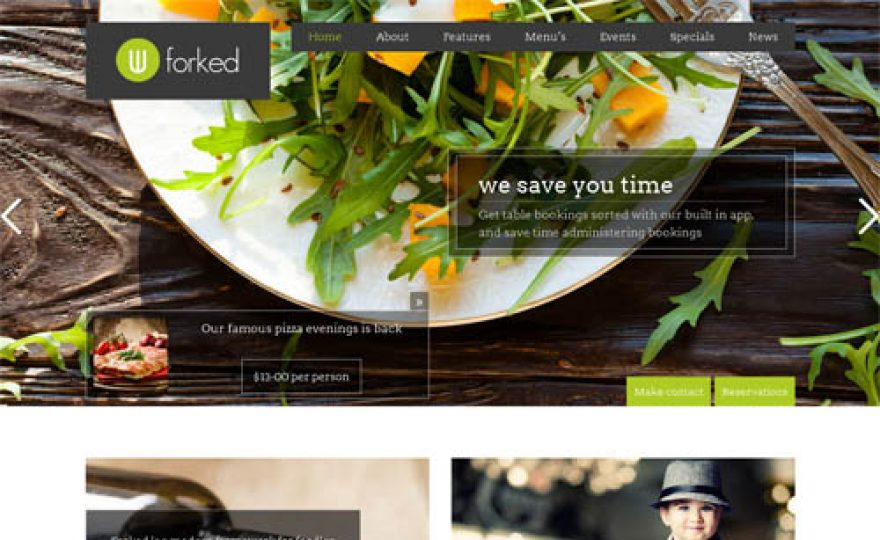 30+ Excellent Restaurant WordPress Themes