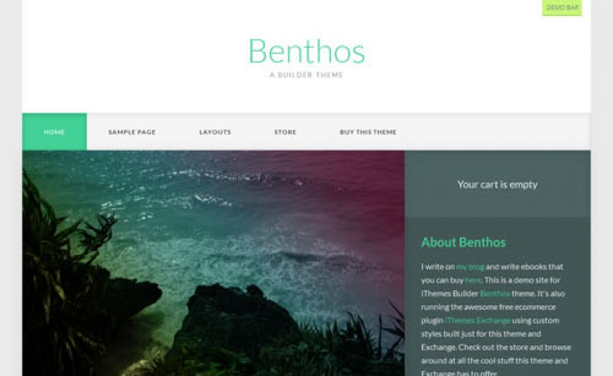 Benthos Builder Child Theme with iThemes Exchange Support