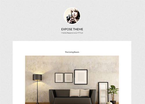 Expose Pro Photography WordPress Theme
