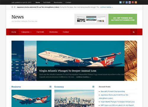 Responsive News Premium WordPress Theme