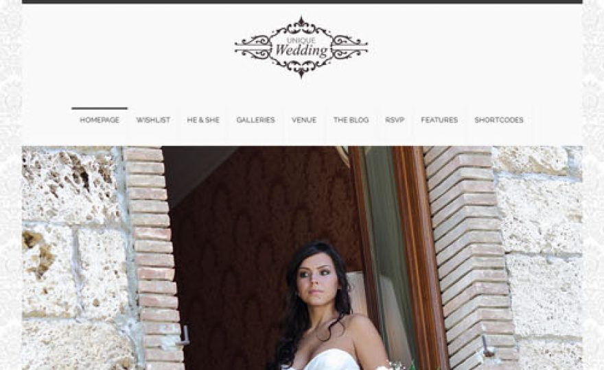 10+ Beautiful Wedding WordPress Themes