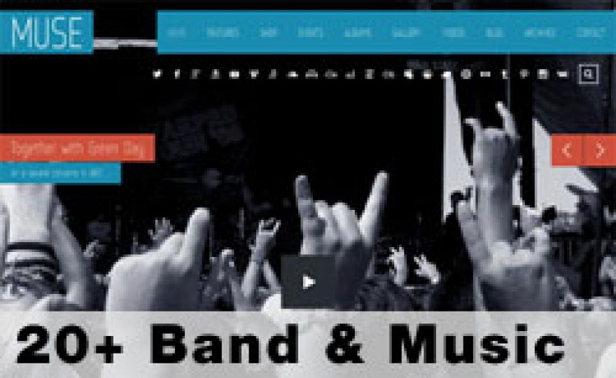 20+ Top Music & Band WordPress Themes