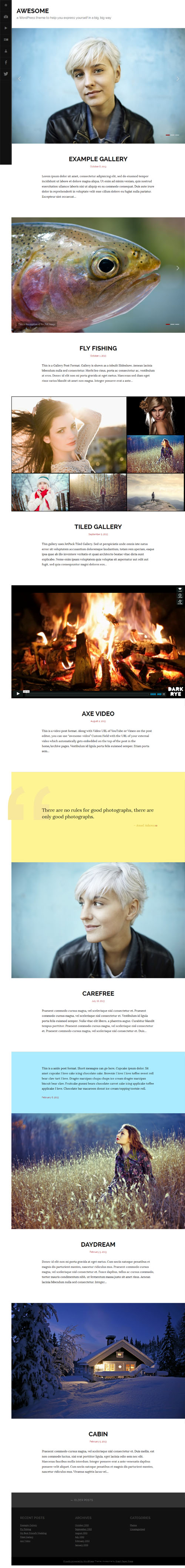 40 Best Premium Blog WordPress Themes 2018