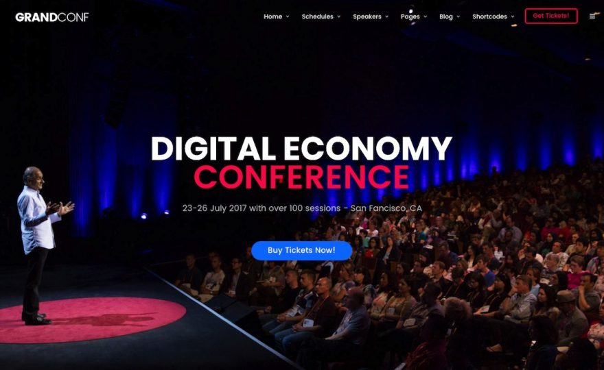 The Best Conference & Event WordPress Themes