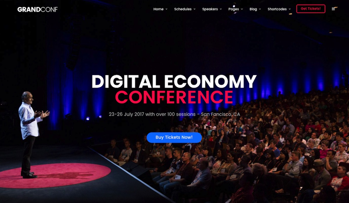 20 best conference event wordpress themes 2018