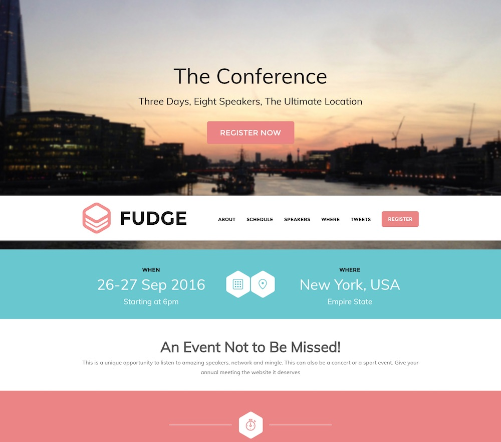 20+ Best Conference & Event WordPress Themes 2019