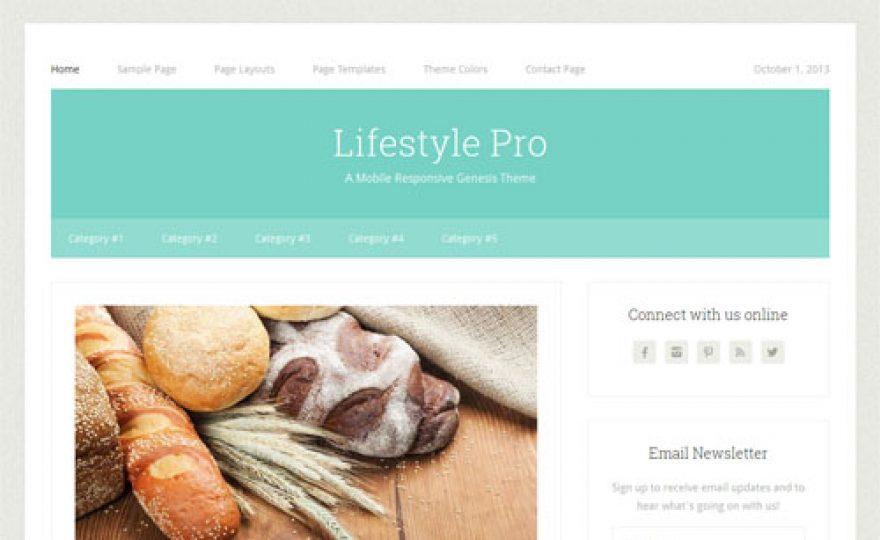 Lifestyle Pro Responsive WordPress Theme