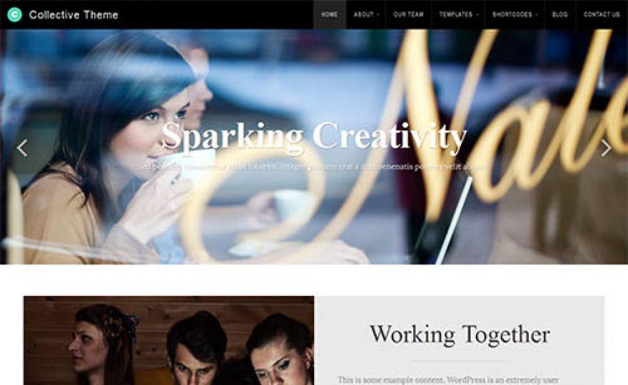 Collective Responsive Premium WordPress Theme