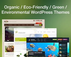 Eco, Nature, Organic & Environmental WordPress Themes