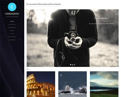 Premium WordPress Photography Theme – Chromatic