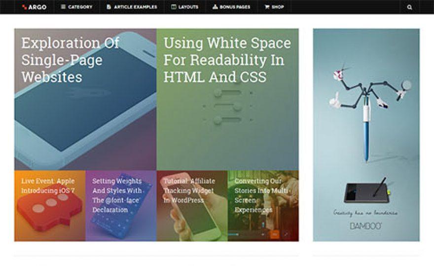 DW Argo Responsive WordPress Theme