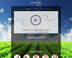 Ecolife Environmental / Non Profit WordPress Theme