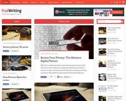 Pad Writing Magazine WordPress Theme