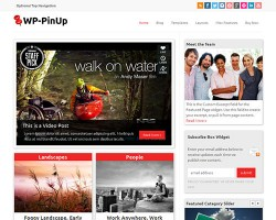 WP-PinUp WordPress Premium Theme