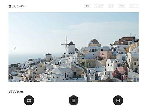 Photography WordPress Theme – Zoomy