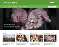 Outreach Pro WordPress Theme for Churches