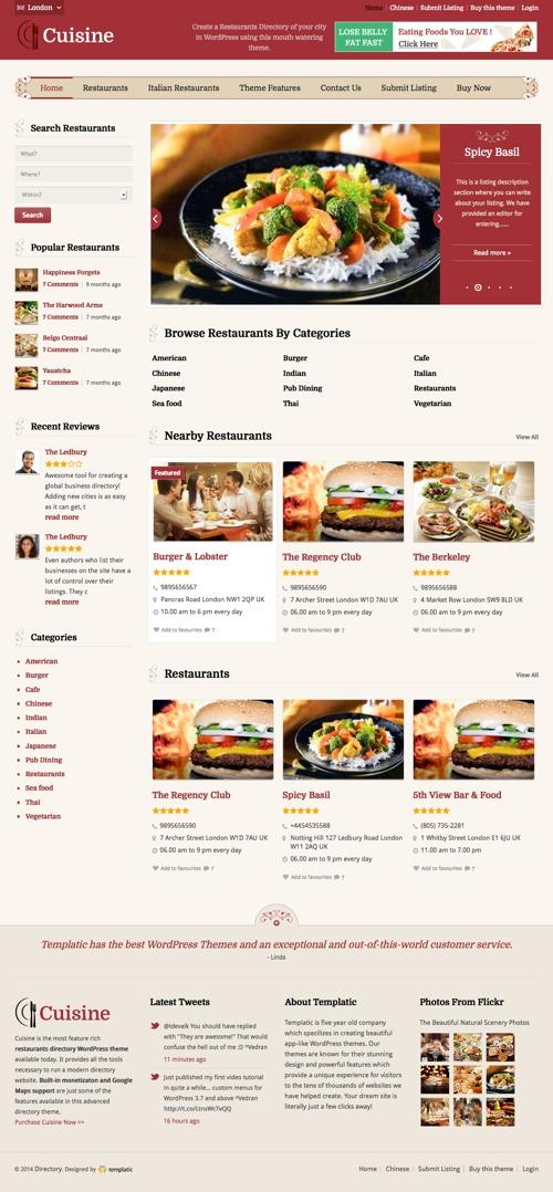 cuisine-theme