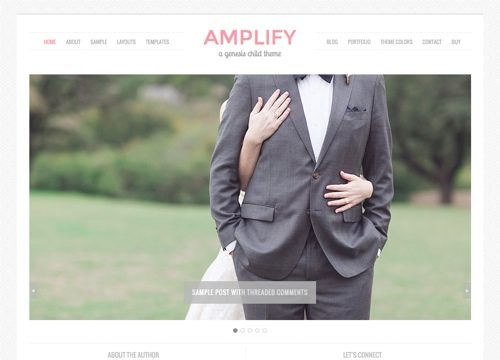 Amplify Child Theme for the Genesis Framework
