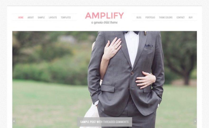 Amplify Child Theme for the Genesis Framework