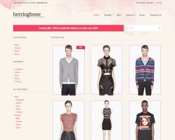 Ecommerce WordPress Theme: Herringbone