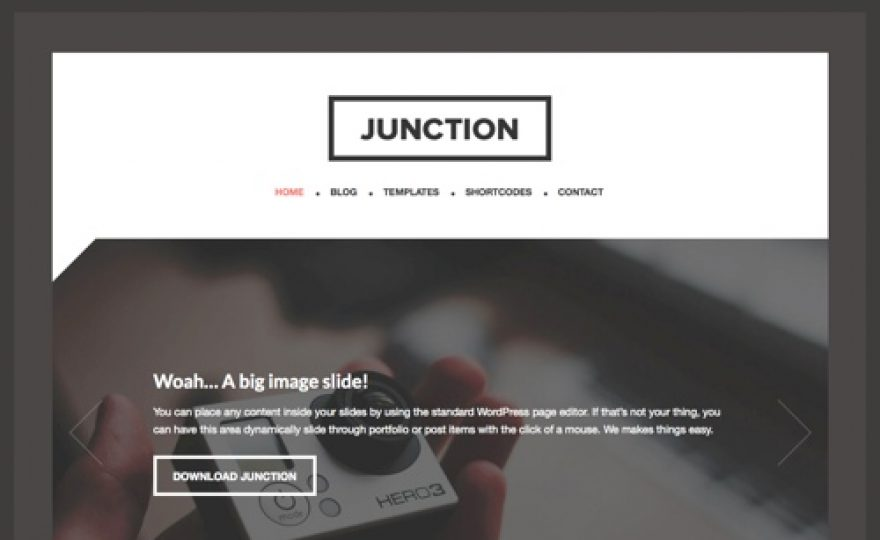 Junction WordPress Theme for Thesis and Genesis