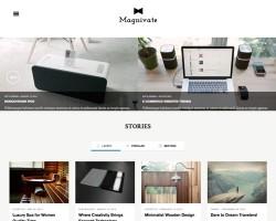Magnivate WordPress Magazine Theme