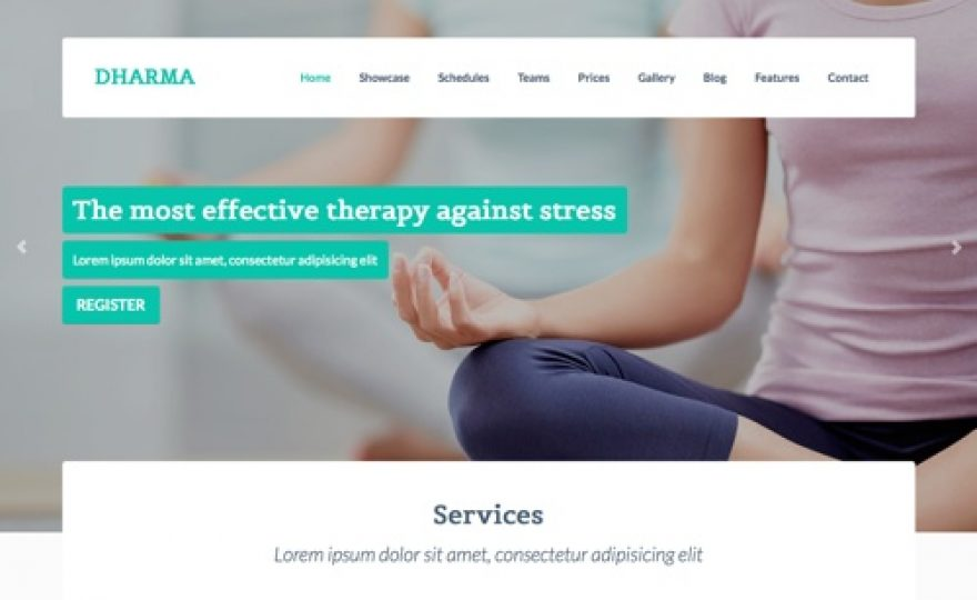 Dharma Business WordPress Theme