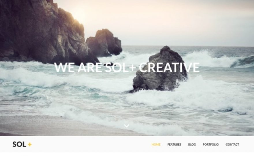 Sol – WordPress Theme for Creative Agencies and Startups