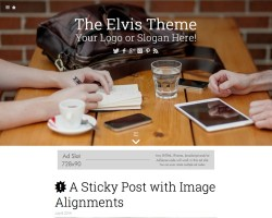 The Elvis WordPress Theme