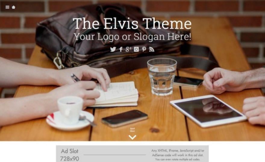 The Elvis WordPress Theme
