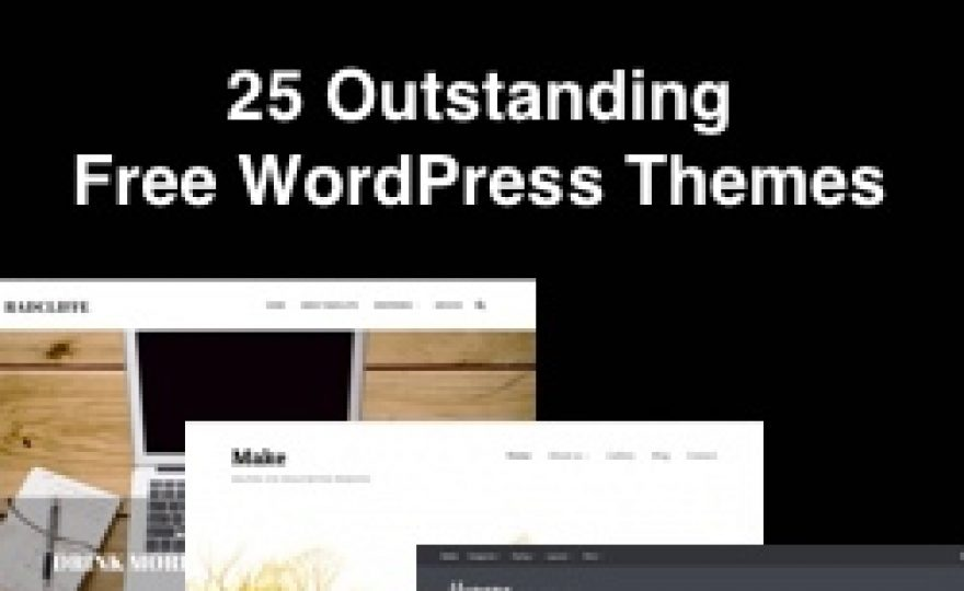 25 Outstanding Free WordPress Themes