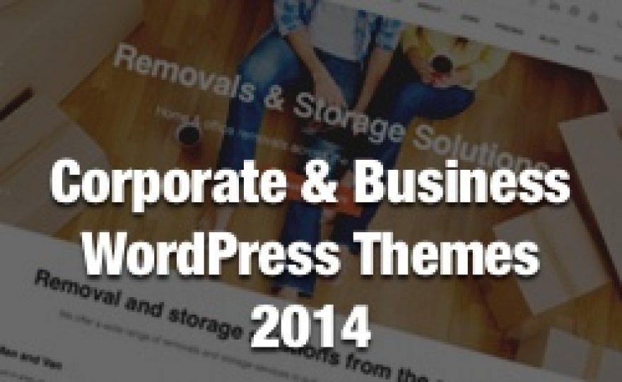 50+ Best Corporate & Business WordPress Themes 2014